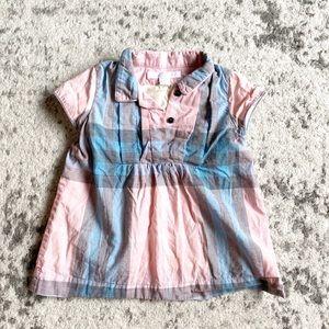 ✴️FREE Burberry baby check infant girl dress tunic